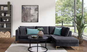 Bilde av Florø sofa m/sjeselong